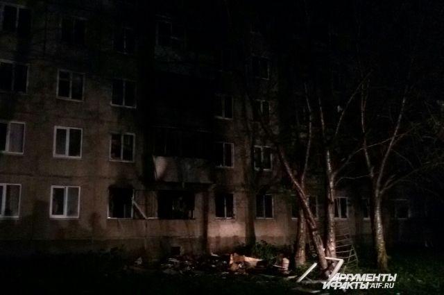 Взрыв бытового газа в доме на Свиязева, 50/1, произошёл 23 мая.