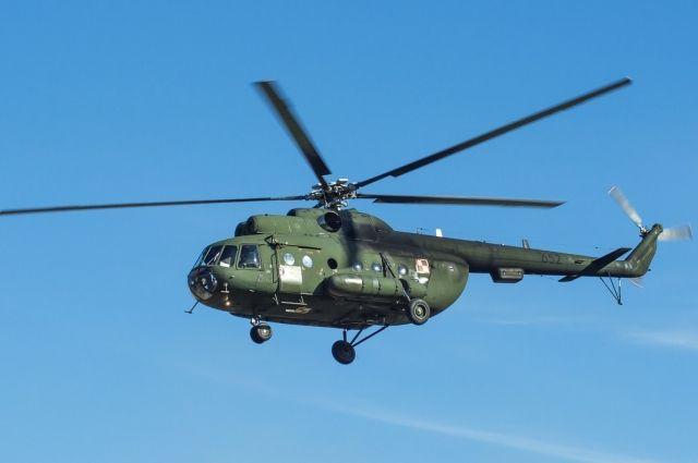 Дважды местность, где пытался скрыться преступник, облетали на вертолёте сотрудники Росгвардии.