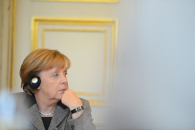 Меркель предупредила орисках «настоящей торговой войны» ЕСиСША