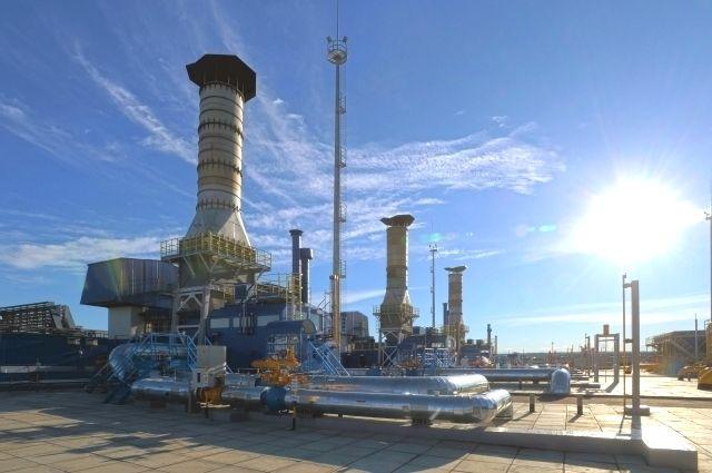 Газоперекачивающие агрегаты на компрессорной станции «Георгиевск».
