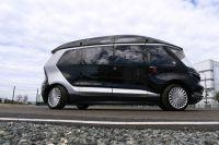 Тест-драйв прототипа беспилотного электробуса «ШАТЛ», предоставленного российским производителем грузовых автомобилей «КамАЗ», вКа&#133;                                          <br/>( <a href=