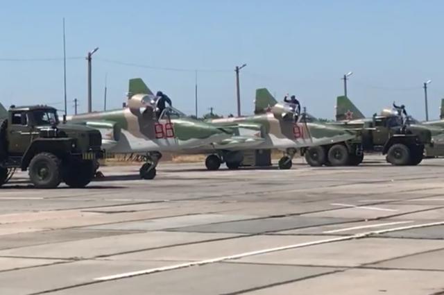 НаКубань изСирии вернулись шесть штурмовиков Су-25