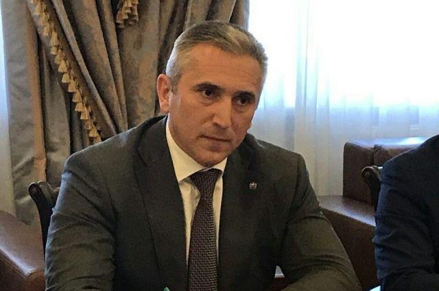 Александр Моор встретился с управляющим компании «Роснефть» Игорем Сечиным