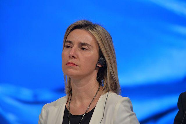 Депутат Рады принял Могерини за 2-х различных людей