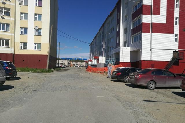 В Лабытнанги началось благоустройство дворов по Студенческой и Первомайской