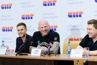 Джефф Монсон в пресс-центре СМГ