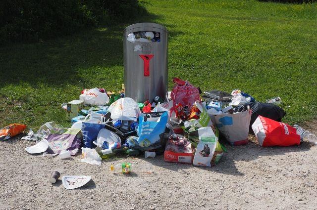 Мусор будут убирать там, где редко бывают коммунальные службы.