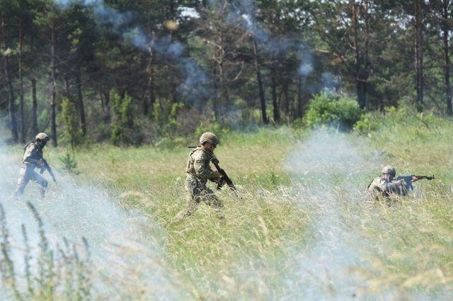 ВУкраинском государстве в итоге взрыва наполигоне погибли трое военных