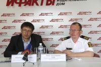 Владимир Давыдков и Ринат Енин.