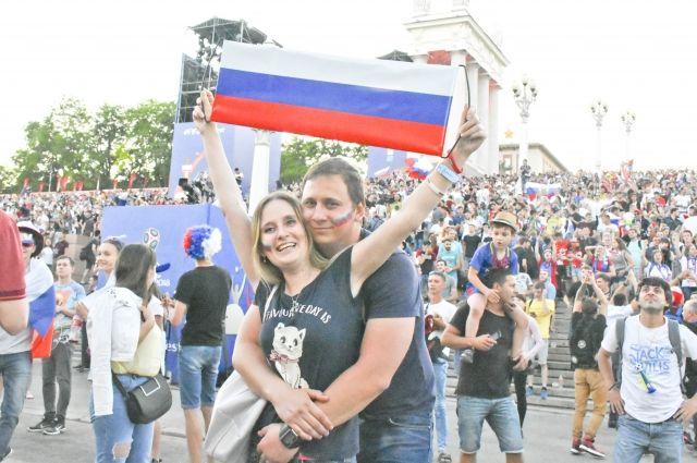 Свадьбы болельщиков пройдут вдень матча Россия-Хорватия вНижнем