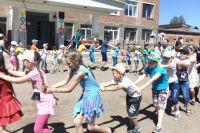 «Праздник лета», который устроили для ребят 29 июня, пришёлся на конец смены в их лагере.