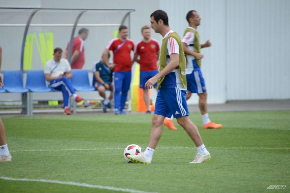 Алан Дзагоев в мыслях уже играет с Хорватией.