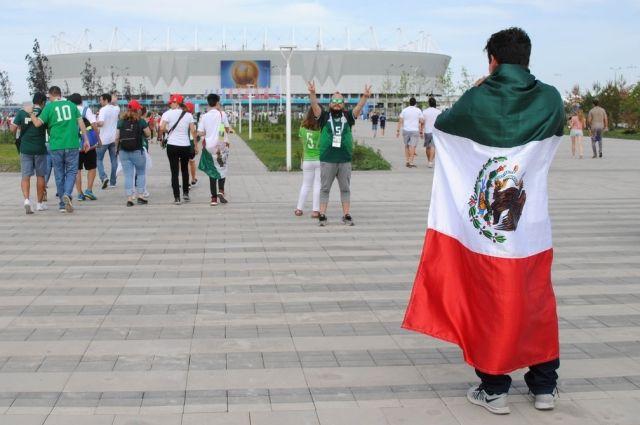 Болельщики из Мексики: Россия - загадочная далёкая страна и поэтому нам было интересно сюда приехать.