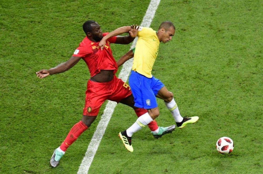 Бельгийский форвард Лукаку стал одним из ключевых игроков матча.