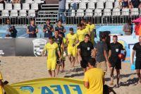Сборная Украины по пляжному футболу проиграла Испании по серии пенальти
