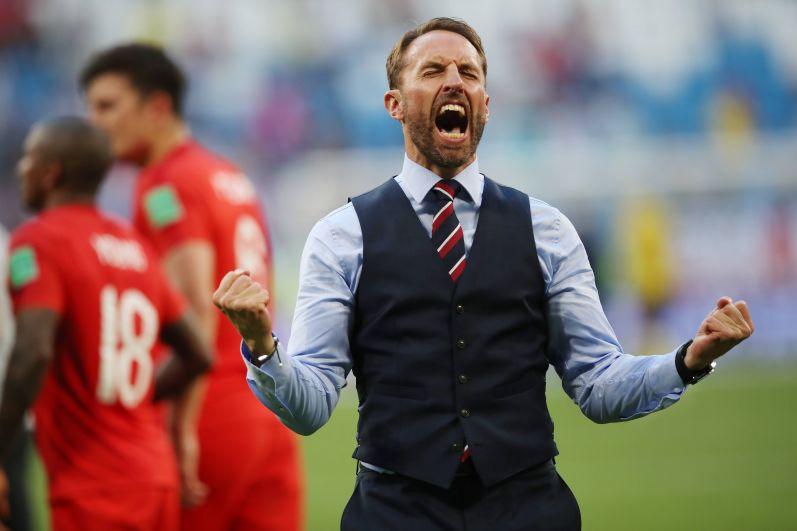 Главный тренер сборной Англии Гарет Саутгейт.