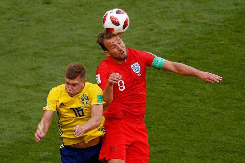Кейн играет головой. Капитан не забил в этом матче вопреки ожиданиям.