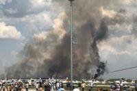 В Румынии потерпел крушение МиГ-21: самолет взорвался
