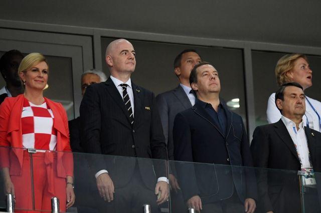 Картинки по запросу колинда грабар-китарович с медведевым на матче
