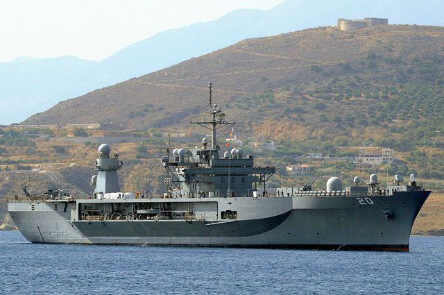 Два корабля ВМС США вошли вЧерное море