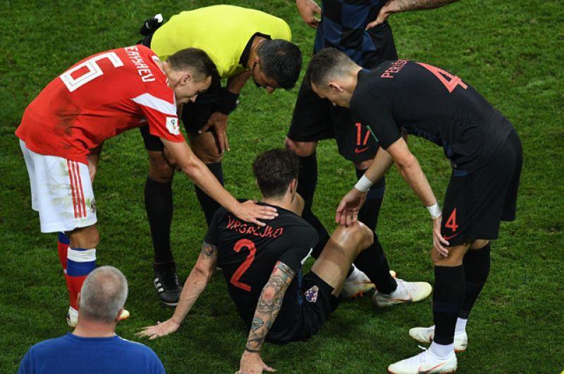 Соперники ощутили напор российских футболистов.