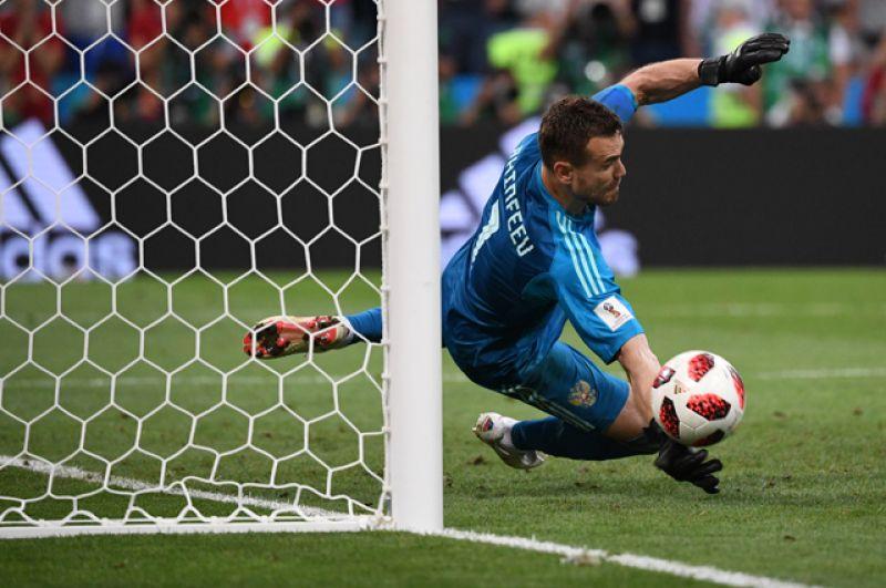 В серии пенальти хорваты забили решающий мяч, обеспечив себе выход в полуфинал.