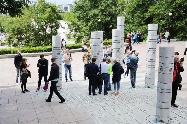 В центре Владивостока появились «Семь сопок»