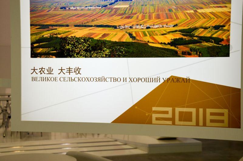 Русский язык у гостей из Китая продолжает хромать.