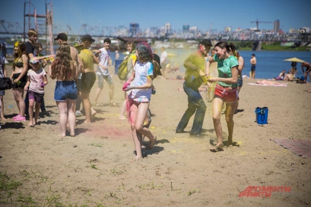 Праздник проходил на пляже «Наутилус».