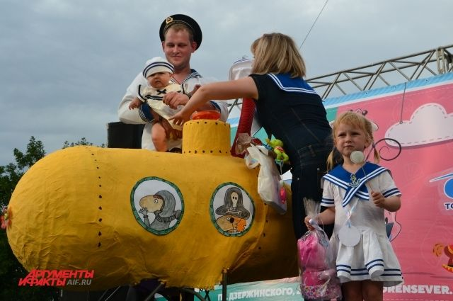 В Оренбурге в выходные состоялся «Парад колясок».