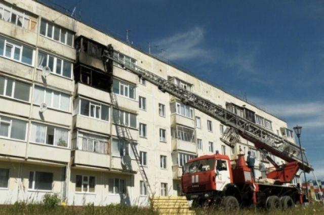 Причиной пожара в Ноябрьске могла стать неисправность электрооборудования