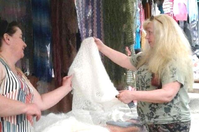 Вязание балкарок - настоящее искусство.