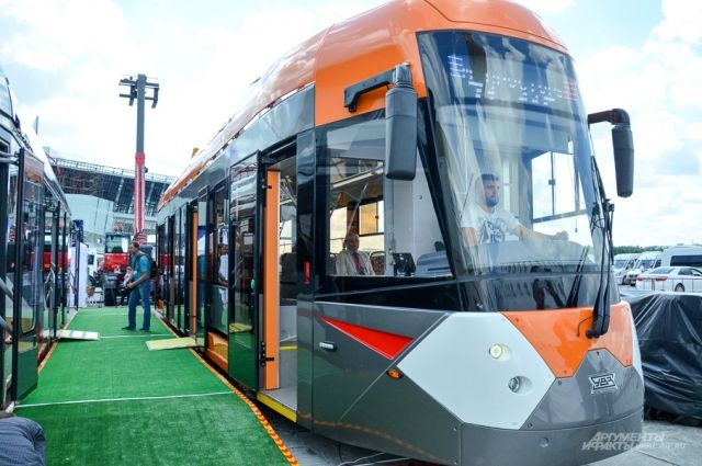 Новый трамвай урал транс маш