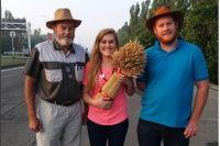 В Ставрополе тепло встретили фермеров из Африки.