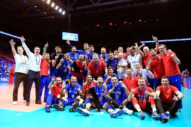 Ямальские волейболисты стали чемпионами Лиги наций