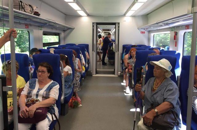 Калининградские поезда «Ласточки» оснастили дополнительными поручнями.