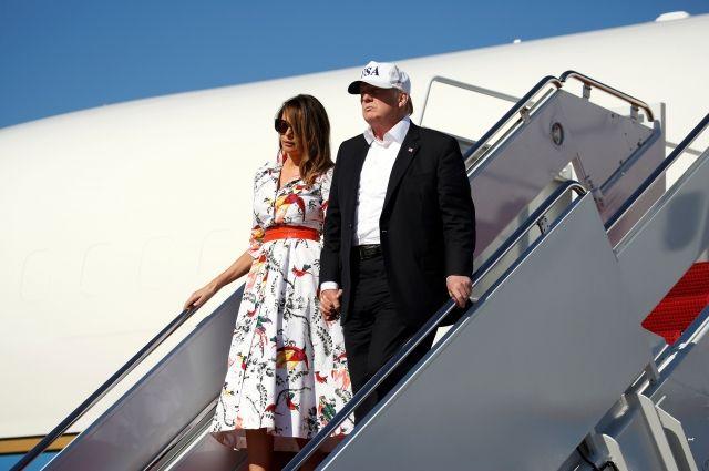 Супруга Трампа приедет вместе с ним в Хельсинки на встречу с Путиным