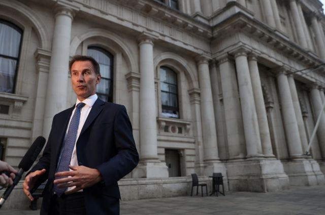 Новым министром иностранных дел Англии  стал Джереми Хант, доэтого  онвозглавлял Минздрав