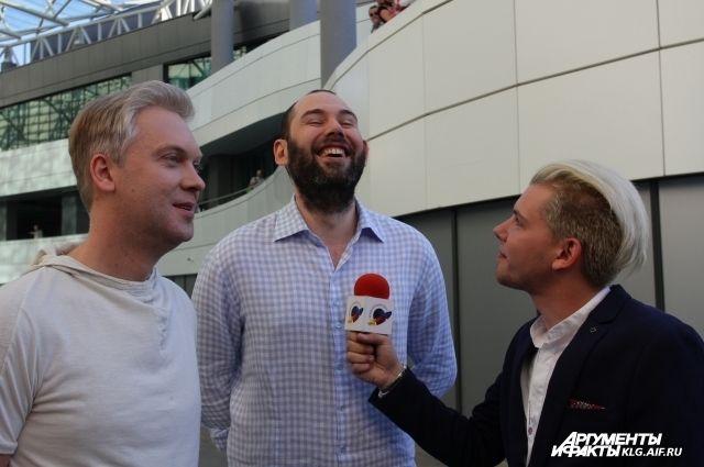 Семен Слепаков и Сергей Светлаков - постоянные гости фестиваля.
