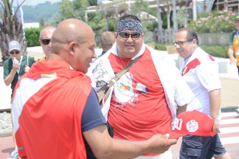 Перуанцы прославились в Сочи, как самые эмоциональные болельщики.