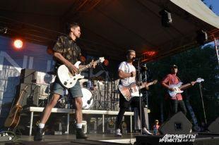 Рок-группа «Nuteki» впервые дала концерт в Оренбурге.