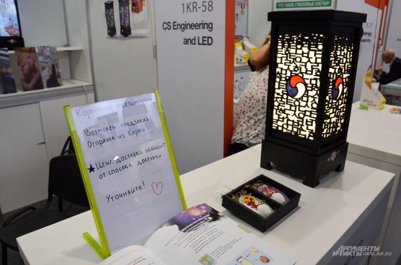 Просто фонари из Кореи. Стоимость такого фонаря - 8500 рублей (без указания цены доставки).