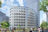 Проект офисного здания на Ленинградском проспекте.