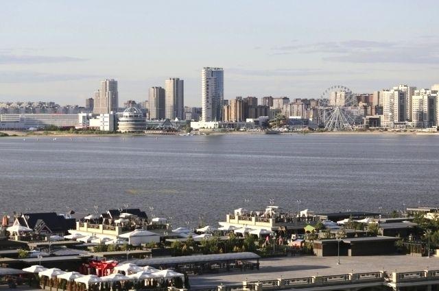 Берегоукрепление берега Казанки обошлось в миллионы.