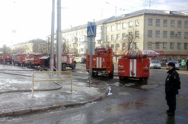 Пожар в торгово-развлекательном центре произошел 25 марта.