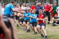 8 команд соревновались между собой в девяти дисциплинах