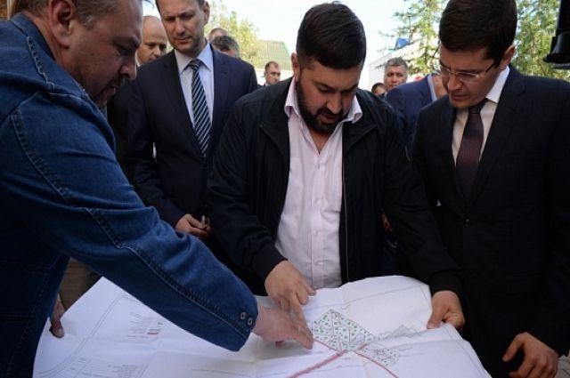 Дмитрий Артюхов оценил ход благоустройства в Салехарде