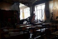 В Одесской области из-за удара молнии сгорела школа