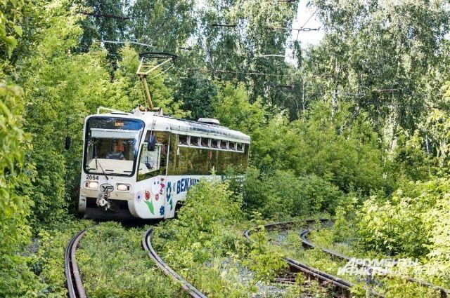 Движение трамваев закроют вМеталлургическом районе Челябинска