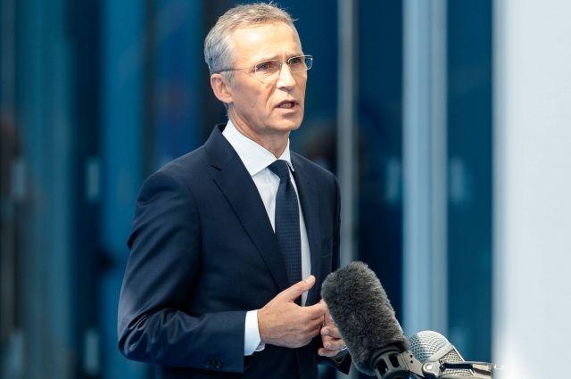 Столтенберг заявил, что «Северный поток-2» не является делом НАТО